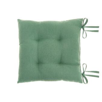 Cuscino da sedia puro cotone tinta unita