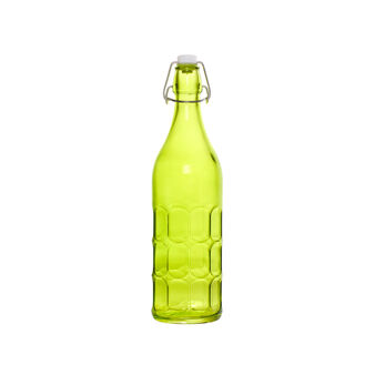 Bottiglia vetro colorato