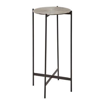 Tavolino in alluminio Round