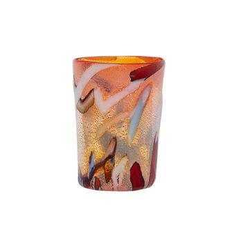 Bicchiere vetro di Murano Mosaico