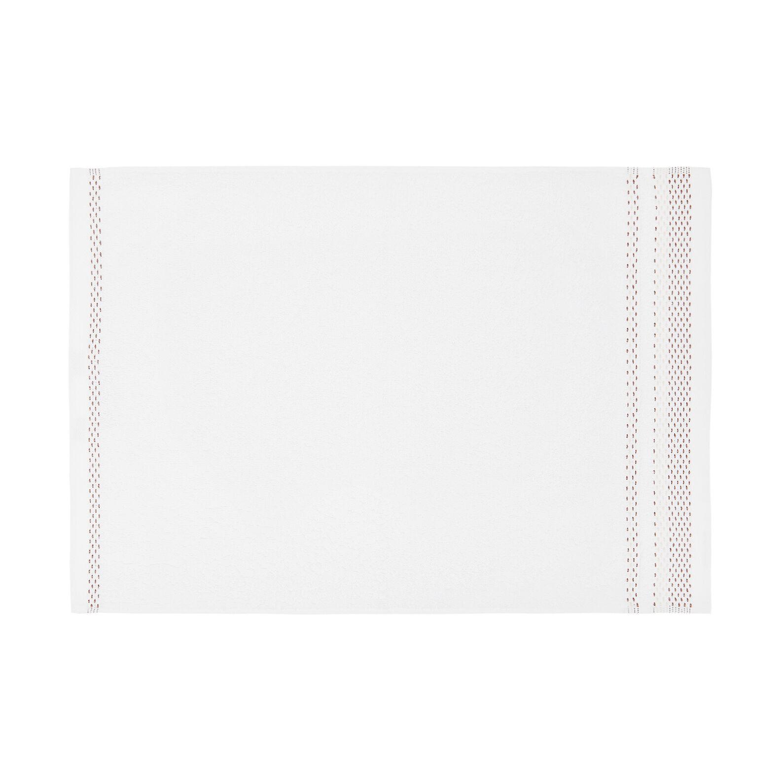 Asciugamano puro cotone balza lavorata