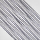 Ribbed 100% cotton table runner with fringing