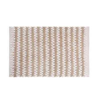 Tappeto bagno cotone intrecciato