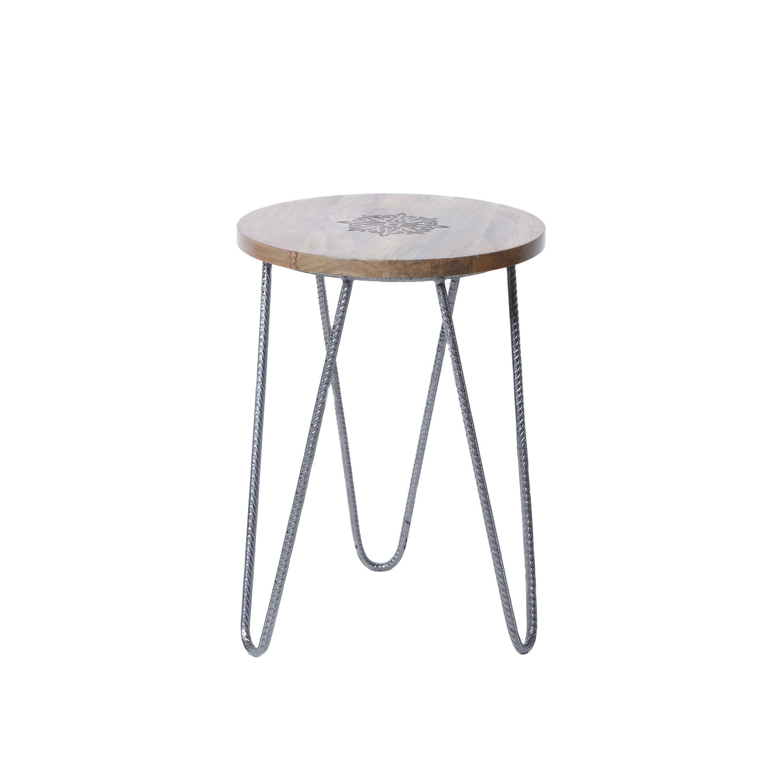 Negombo coffee table in wood and metal