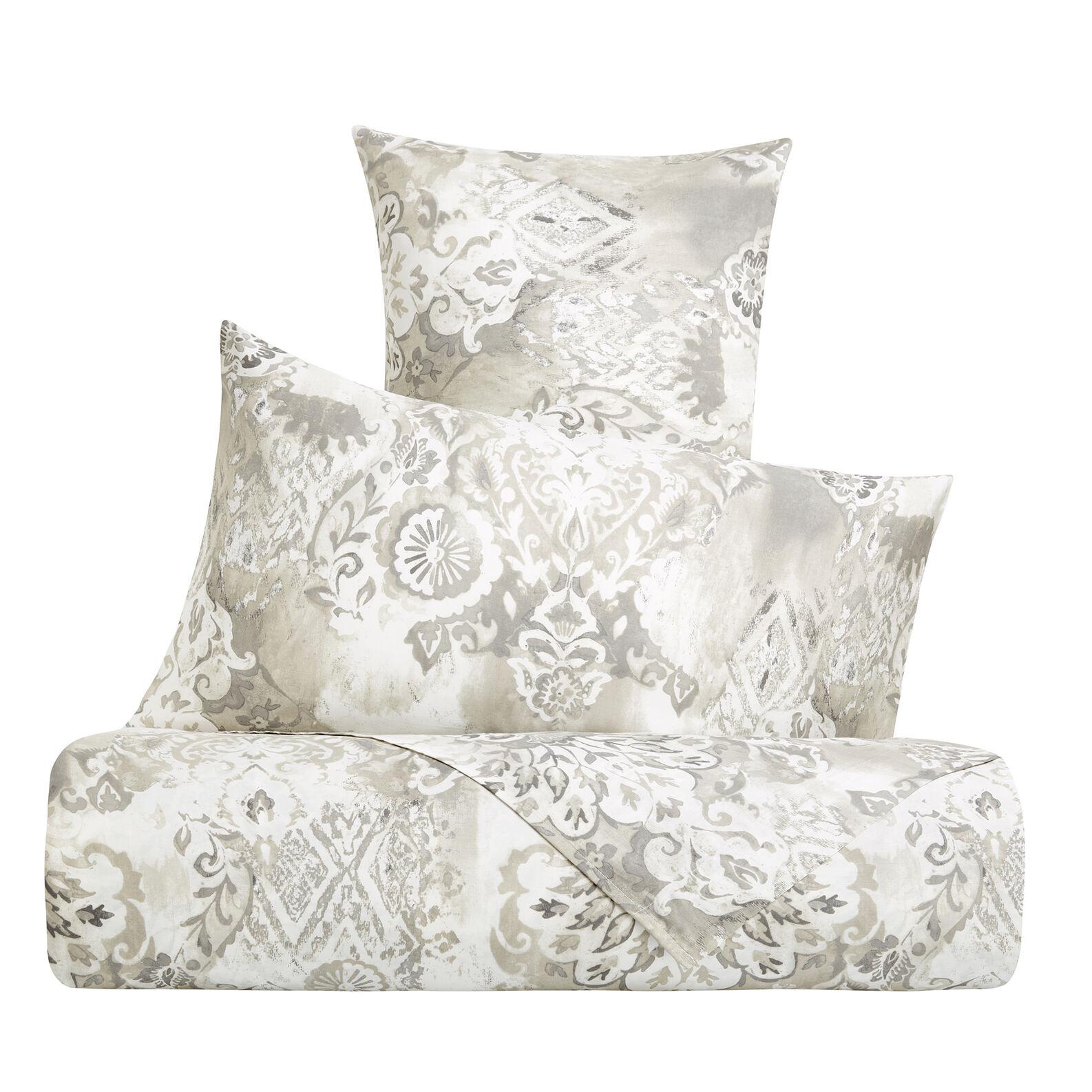 Parure lenzuola raso di cotone fantasia barocca