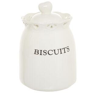 Biscottiera ceramica traforata