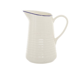 Rustic ceramic carafe