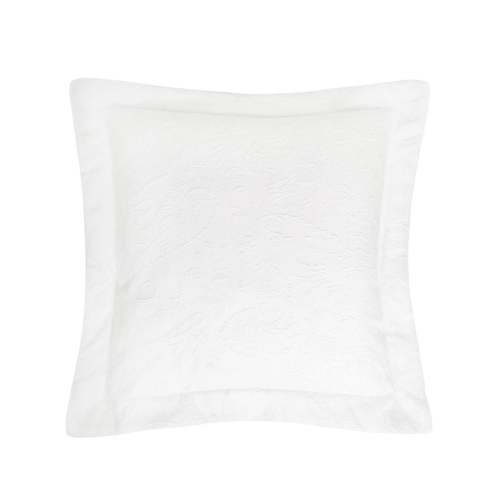 Portofino paisley patterned cushion