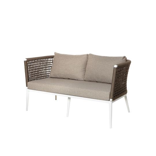Cancun rope and aluminium sofa