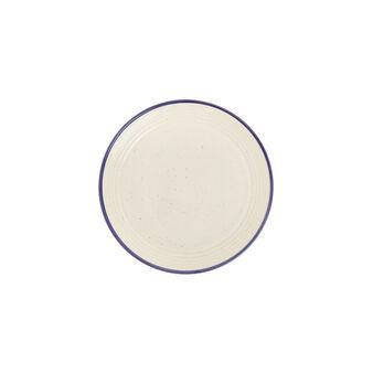 Rustic ceramic side plate