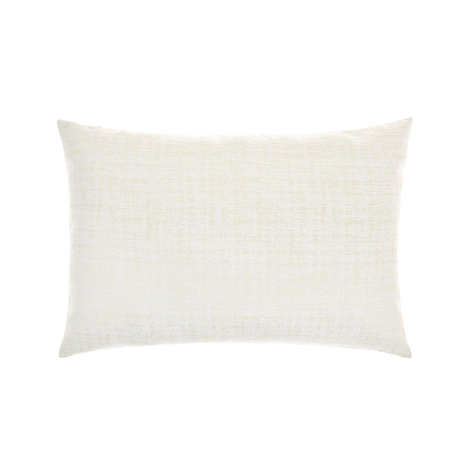 Rectangular cushion with paisley print