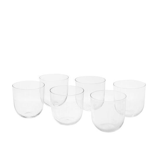 Set of 6 Drop wine glasses