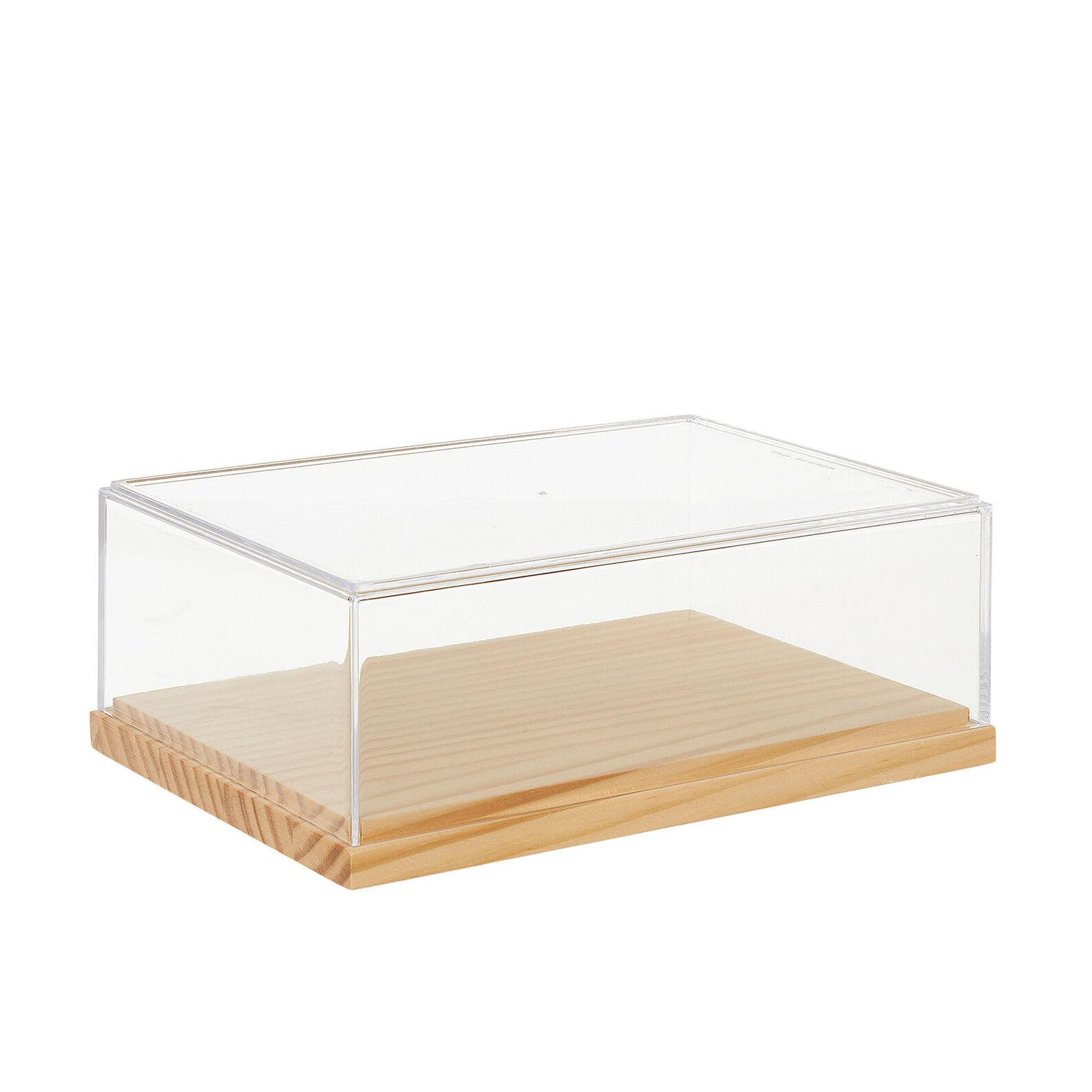 Box in plexiglass e bamboo