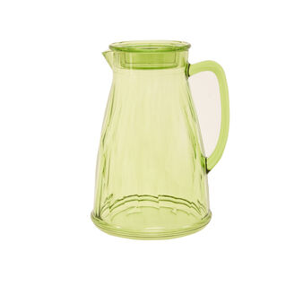 Caraffa plastica verde