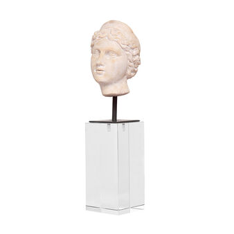 Decorative head-shaped ornament, in polyresin