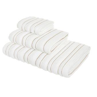 Asciugamano spugna di cotone motivo a righe Portofino