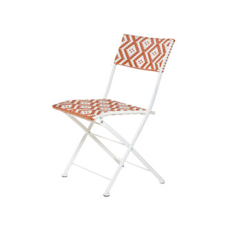 Playacarmen folding chair in polyrattan and aluminium