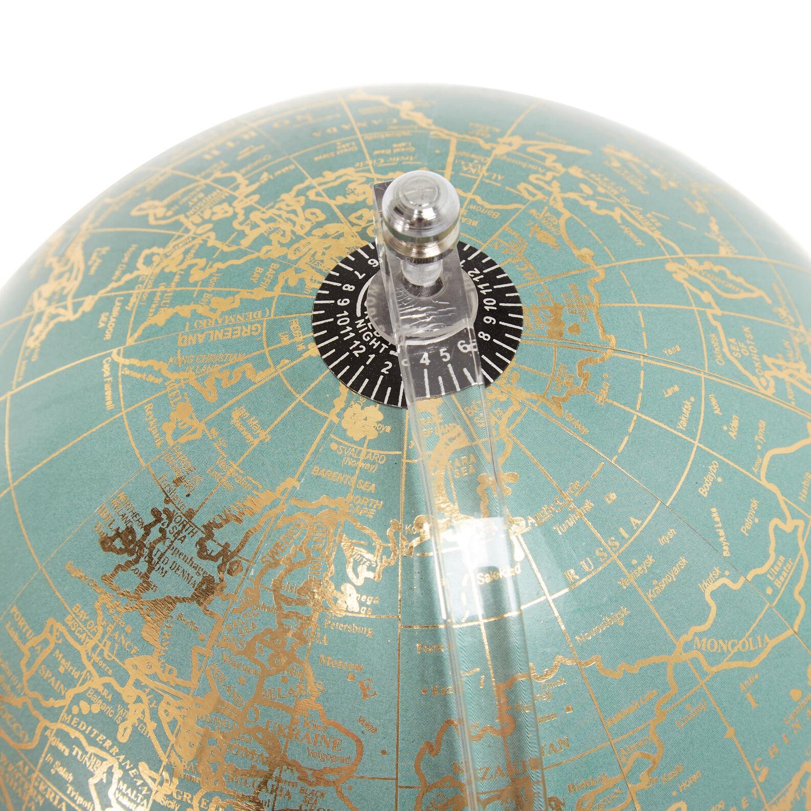 Decorative globe with stand