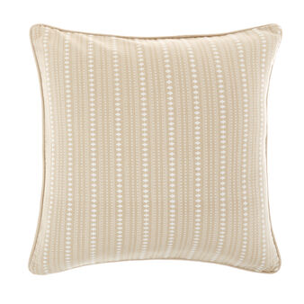 100% cotton cushion with ethnic pattern