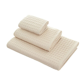 Waffle weave towel in 100% cotton