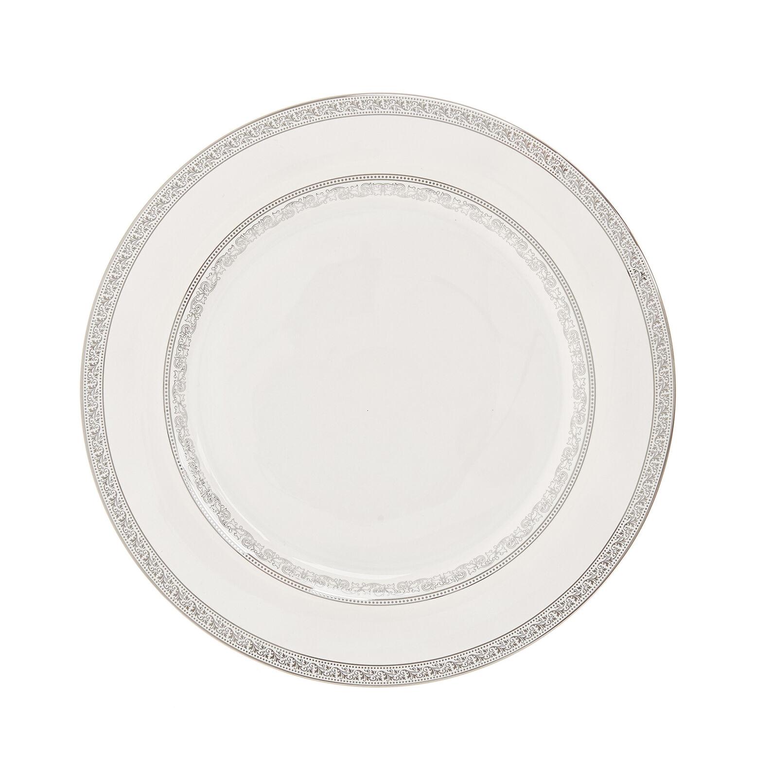 Piatto da portata new bone china con decoro