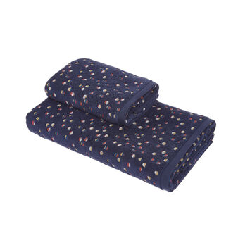 Polka dot cotton towel