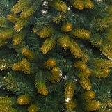 Albero di Natale Everest effetto glitterato oro H255 cm
