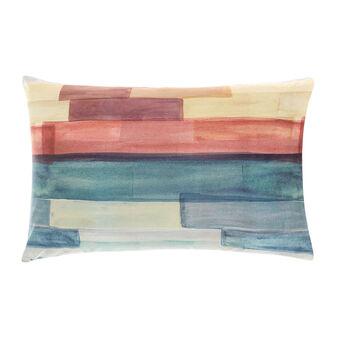 Striped pillowcase in 100% cotton percale