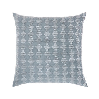 Jacquard geometric cushion 45x45cm