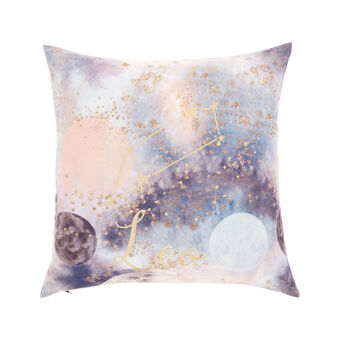 Cushion cover with Leo print 45x45cm