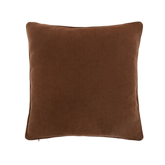 Solid colour velvet cushion (50x50cm)