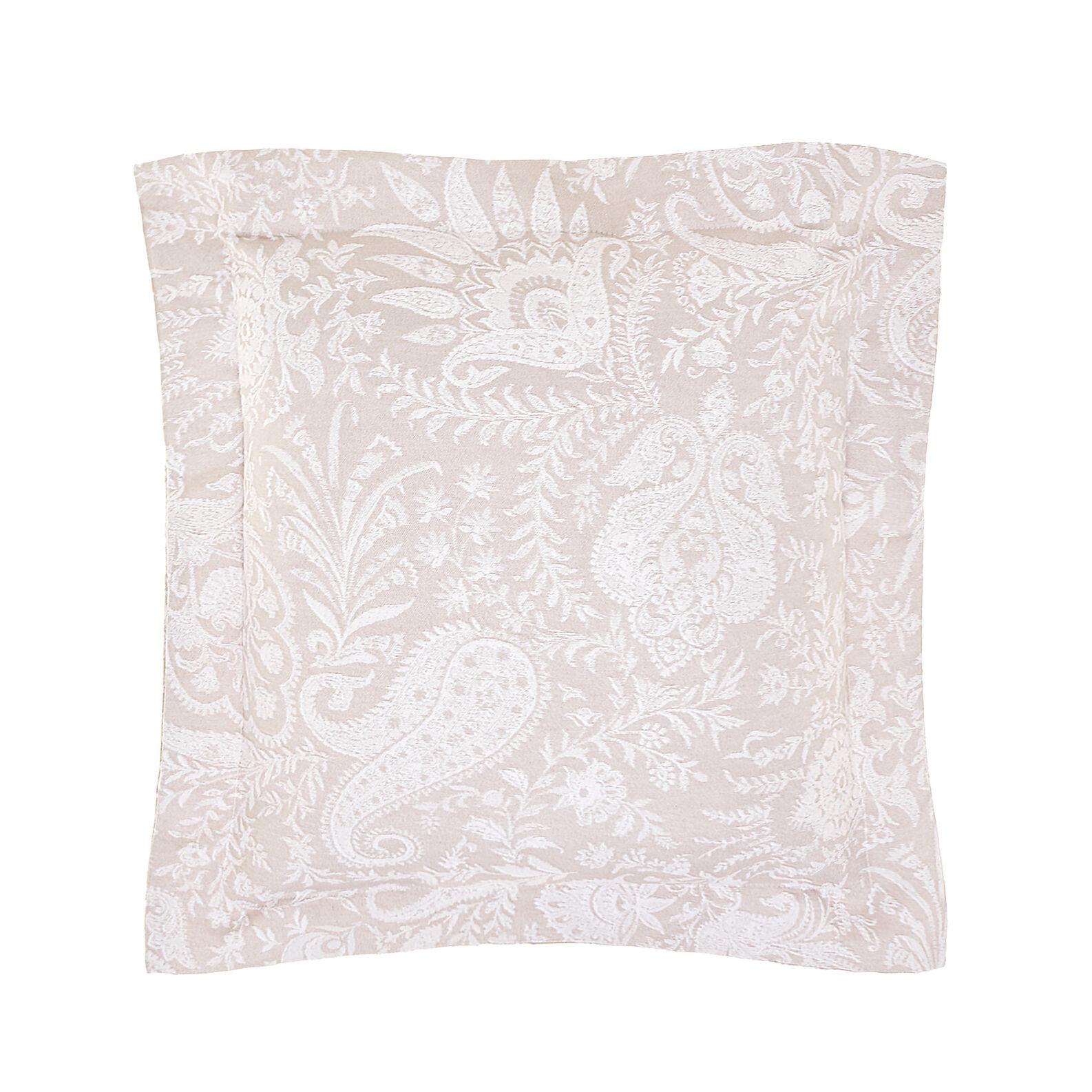 Portofino cushion with paisley pattern