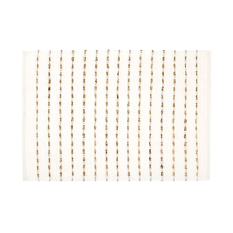 Cotton table mat with abaca design