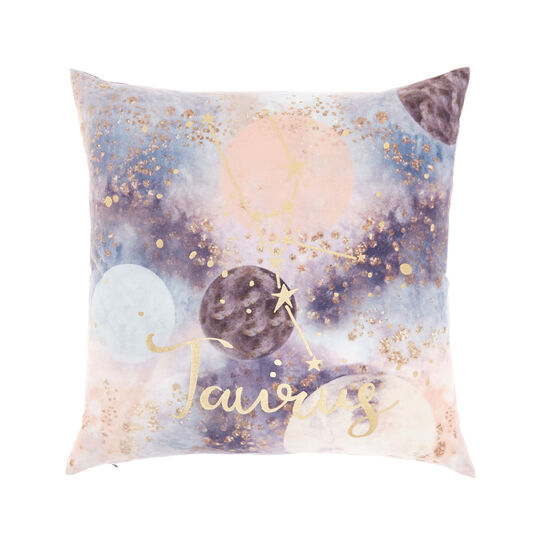 Cushion cover with Taurus print 45x45cm
