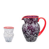 Carafe in original Murano Glass Gondolo's by Matteo Cibic