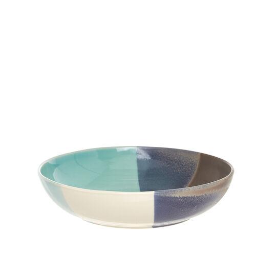 Coloured ceramic salad bowl