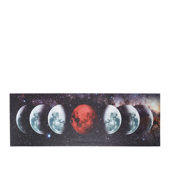 Lunar phase photo print painting