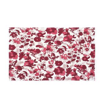 Tappeto cucina misto cotone stampa floreale