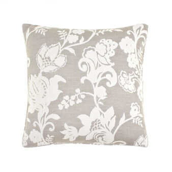 Cushion with jacquard