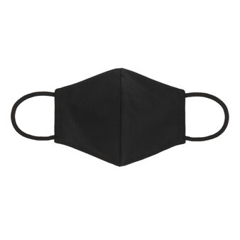 Solid color fabric washable mask