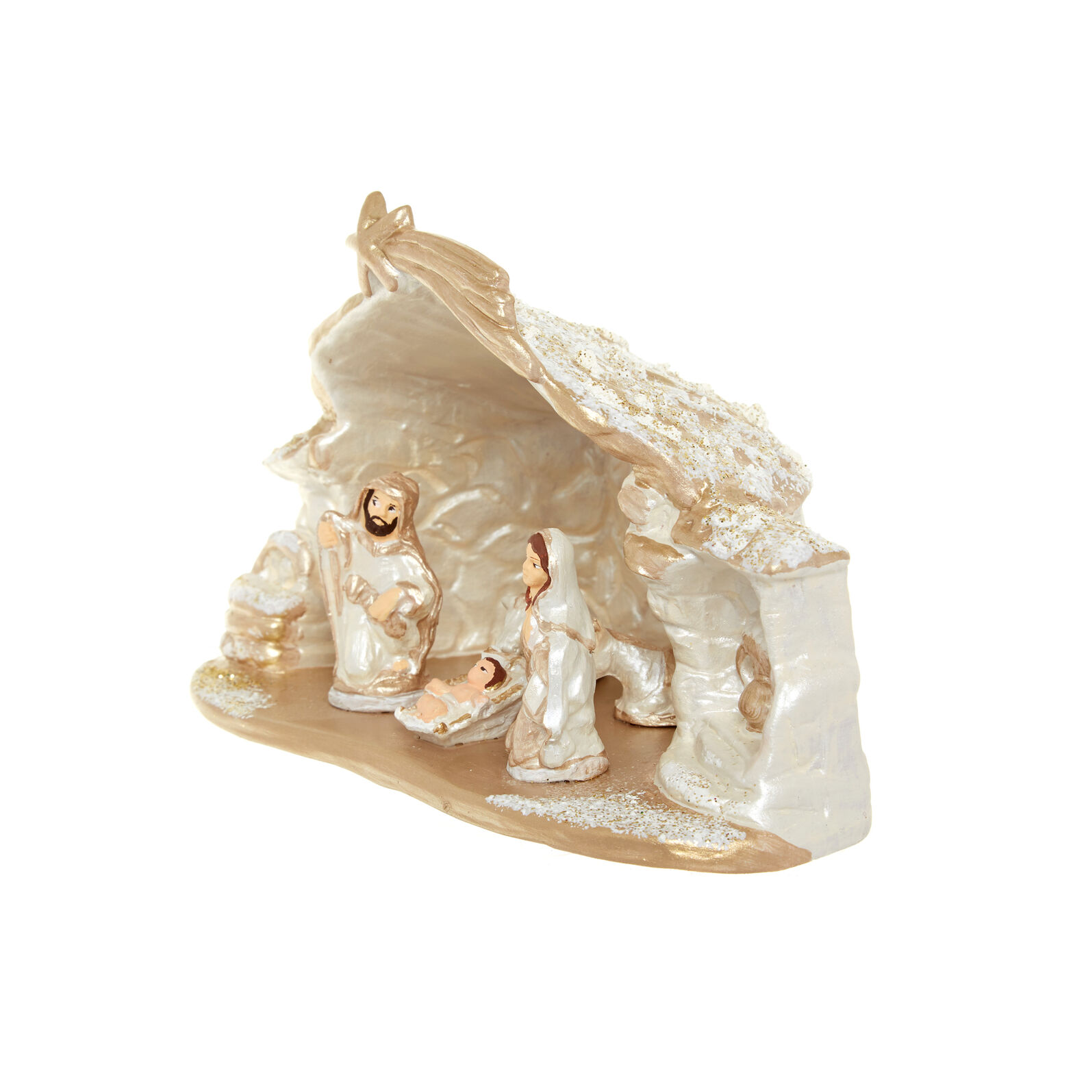 Terracotta nativity scene Made in Italy