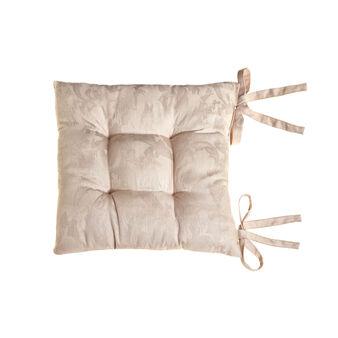 Cuscino sedia puro cotone egiziano jacquard