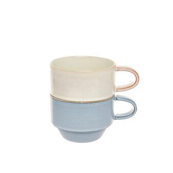 Tazze da tè stoneware colorate