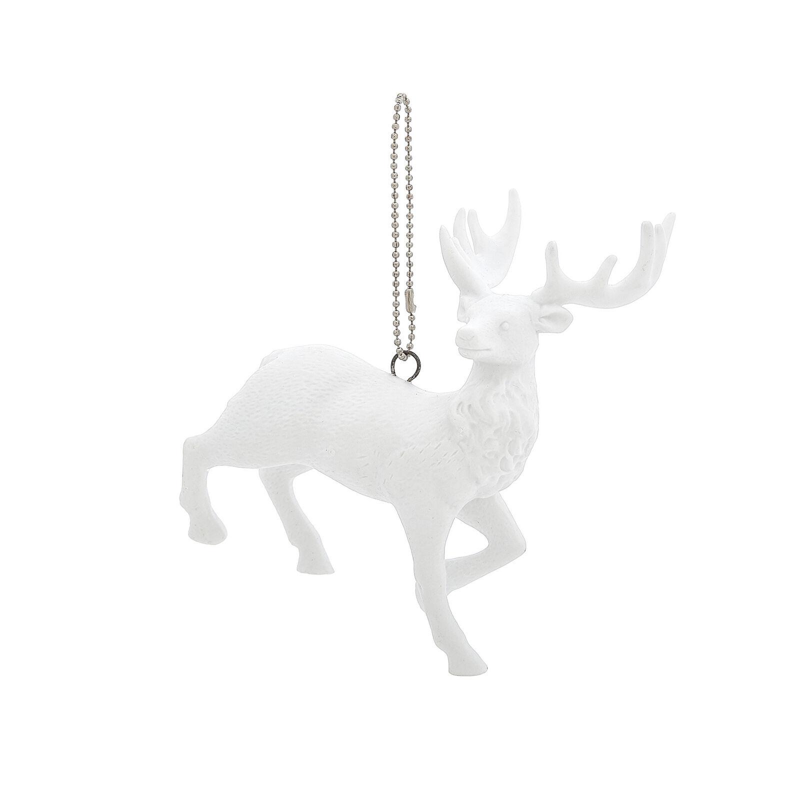 Addobbo cervo in porcellana