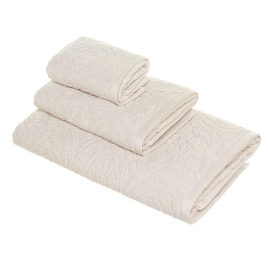 Asciugamano spugna puro cotone rose inglesi Portofino