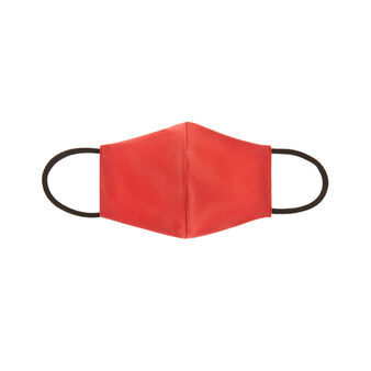 Solid color fabric washable baby mask
