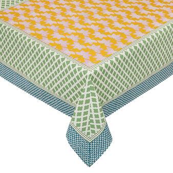 Tovaglia puro cotone stampa piazzata