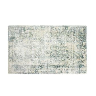 Bedside rug with ornamental motif