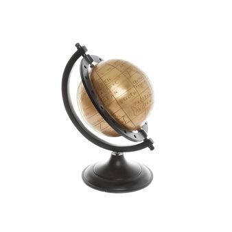 Hand-finished brass globe