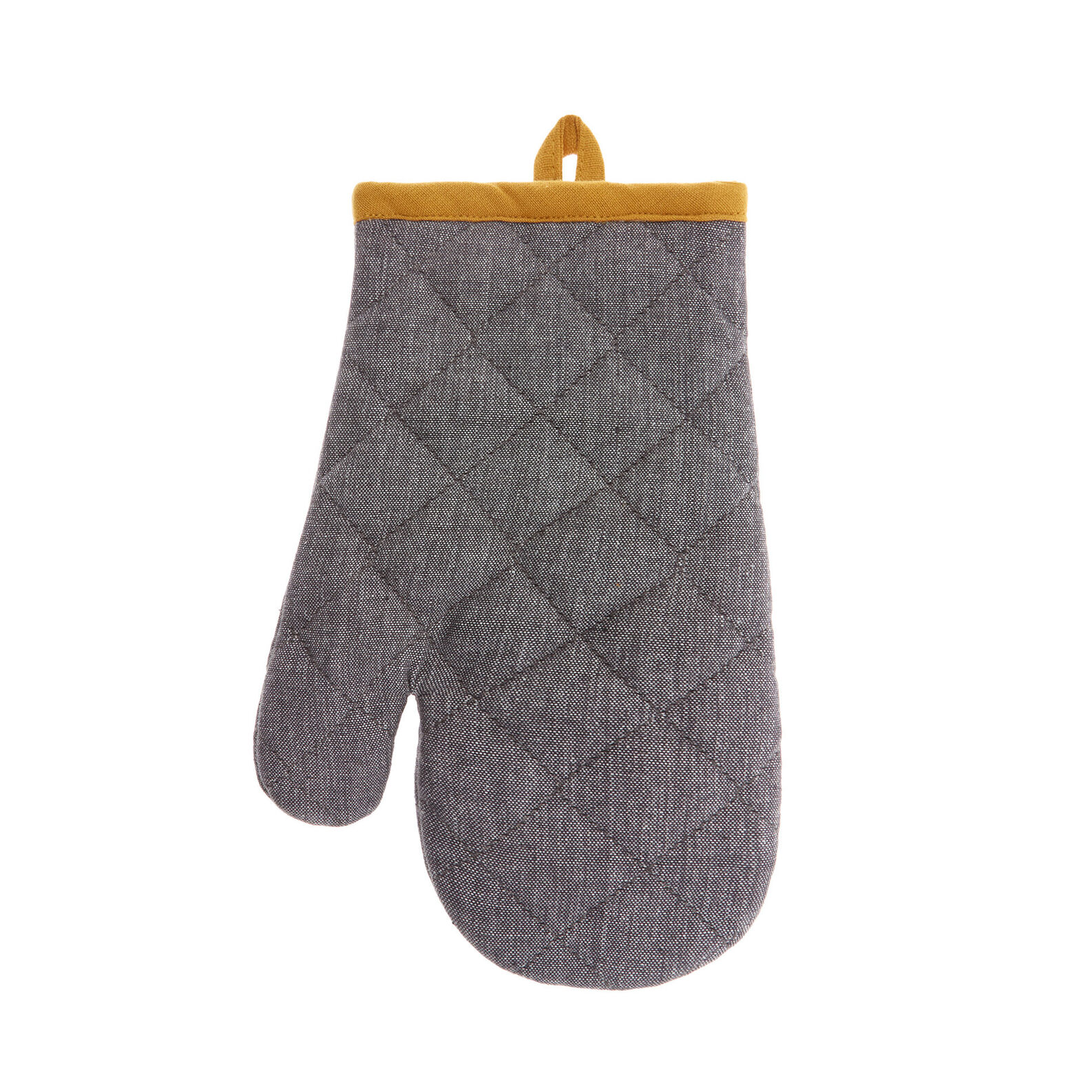100% cotton mélange oven mitt